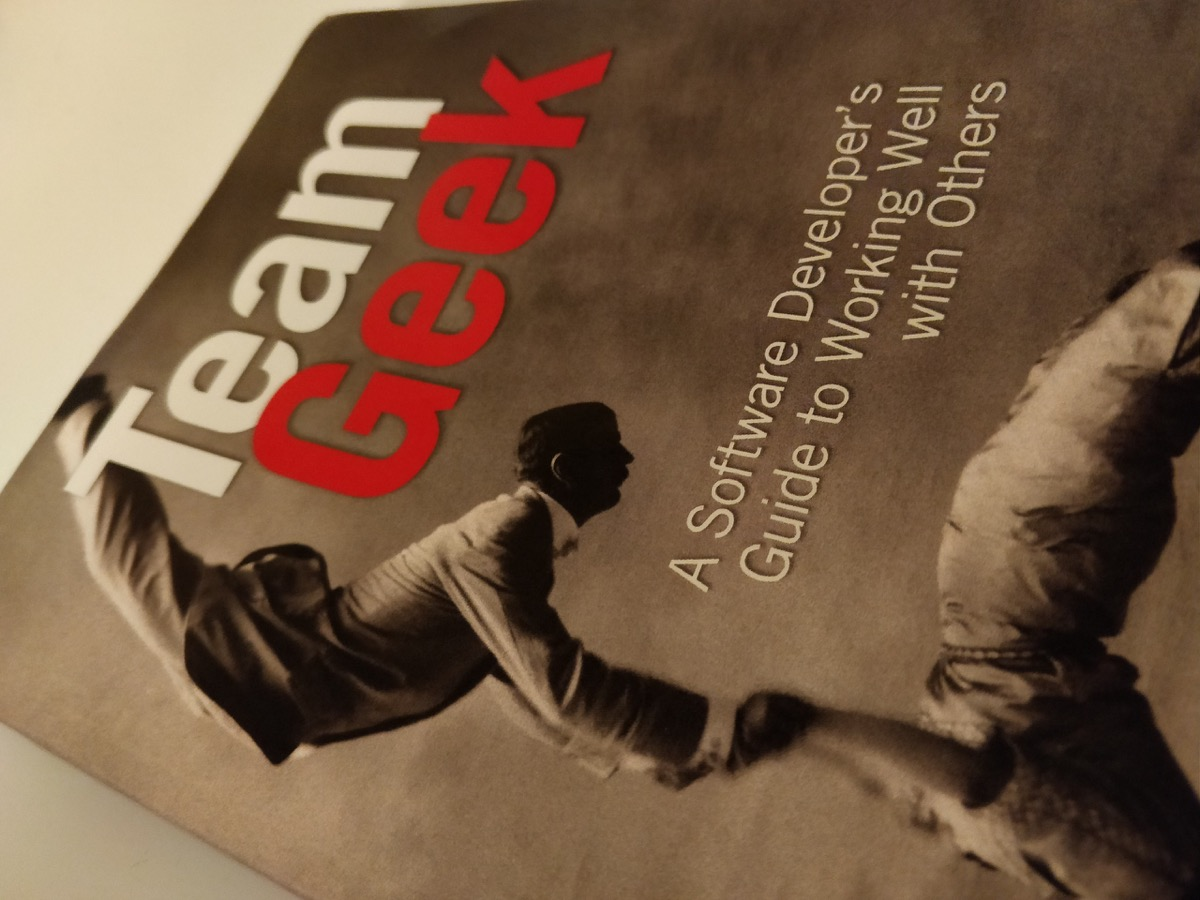 [book review] Team Geek